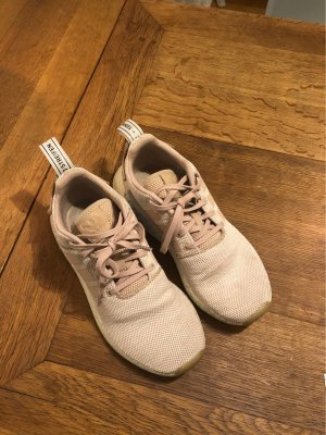 Adidas Lace-Up Sneaker white-pink