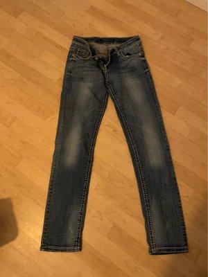 Cipo & Baxx Low Rise Jeans blue