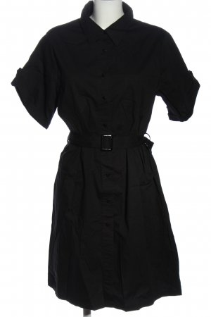Kavi Blusenkleid schwarz Casual-Look