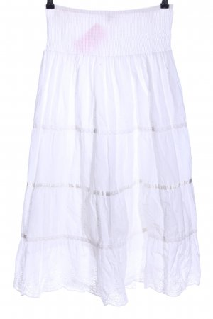 Kavi Maxi Skirt white casual look