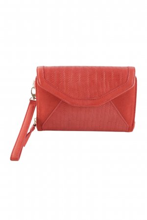 Kaviar Gauche for Zalando Clutch ziegelrot Street-Fashion-Look