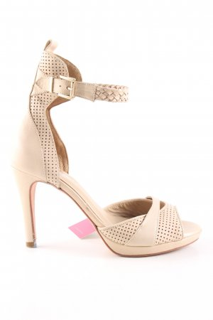 Kaviar Gauche for Zalando High Heel Sandaletten creme Casual-Look