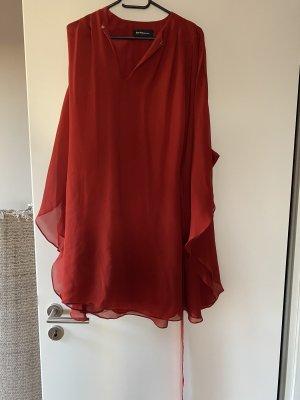 Kaviar Gauche Evening Dress carmine silk