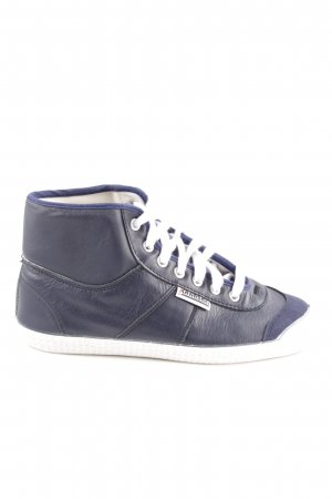 Kawasaki High Top Sneaker blue athletic style