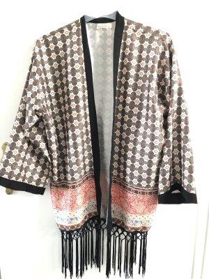 Blusa kimono multicolore