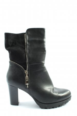 Kayla Heel Boots black casual look