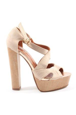 Kayla High Heel Sandaletten creme Business-Look