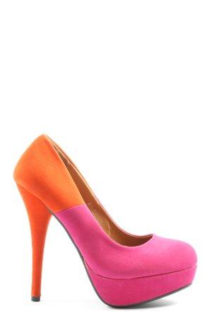Kayla High Heels pink-hellorange Elegant