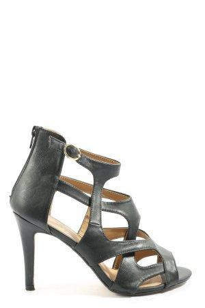 Kayla Peeptoe Pumps schwarz Elegant