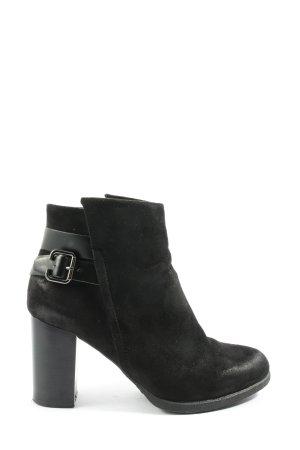 Kayla Reißverschluss-Stiefeletten schwarz Casual-Look
