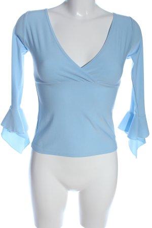 Kbk Camicetta a maniche lunghe blu stile classico
