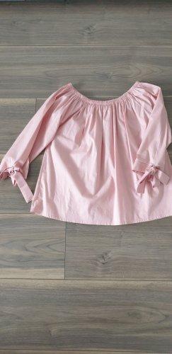 K.D. Klaus Dilkrath Carmen blouse roze Katoen