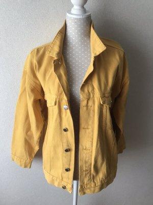 & DENIM Denim Jacket gold orange