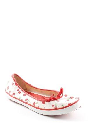 Keds Espadrilles-Sandalen creme-rot sportlicher Stil