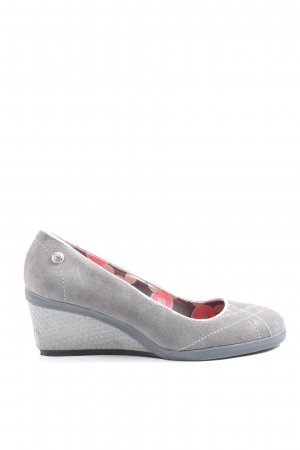 Keds High-Front Pumps light grey casual look
