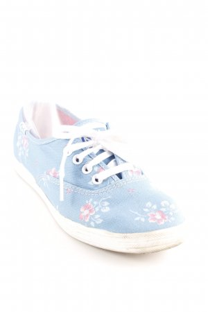 Keds Lace-Up Sneaker flower pattern casual look