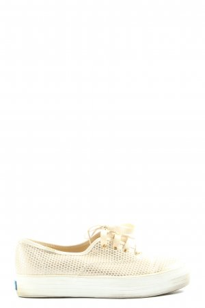 Keds Schnürsneaker creme-goldfarben Casual-Look