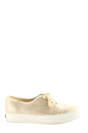 Keds Lace-Up Sneaker cream allover print casual look
