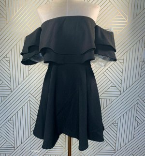 Keepsake The Label Kleid Bardot Schulterfrei Schwarz S 36 Carmen Dress Abendkleid NEU