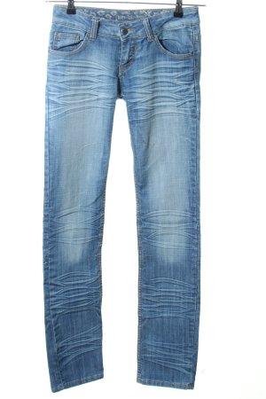 Kbk Jeans vita bassa blu stile casual