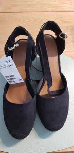 H&M Escarpin compensé noir