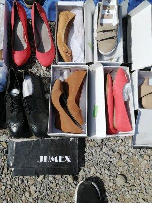 Jumex Zapatos de cuña marrón