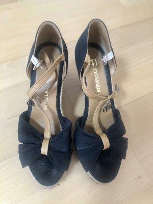 Keil-Sandalen, Tussardi Jeans, Gr. 36