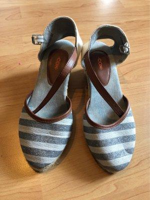 Keilabsatz Sandale COX Neuwertig