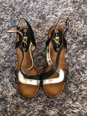 Keilabsatz Sandalen 38