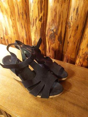 Graceland T-Strap Sandals dark blue