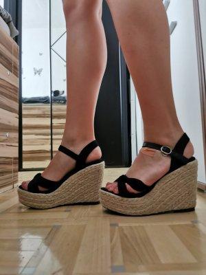 Keilabsatz - Sandalen