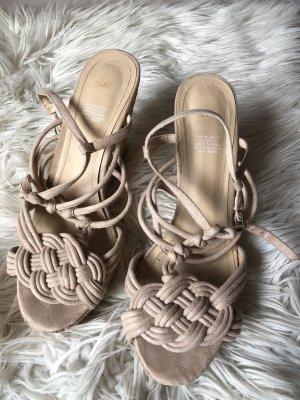 Keilabsatz Sandalen