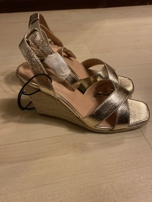 Pimkie Wedge Pumps gold-colored
