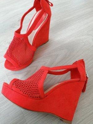 Keilabsatz Sandalen Schuhe Größe 35