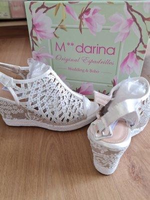 Keilabsatz Schuhe Brautschuhe