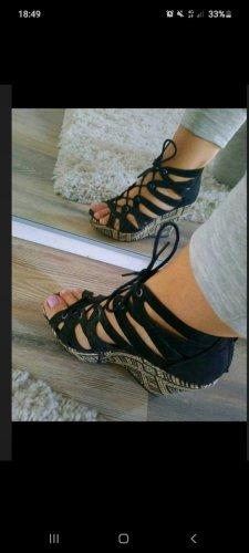 Graceland Zapatos de cuña negro