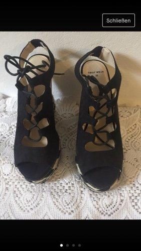 Keilabsatz Schuhe Muster