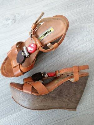 Keilabsatz Schuhe Sandalen Größe 35