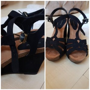 Graceland Wedge Sandals black