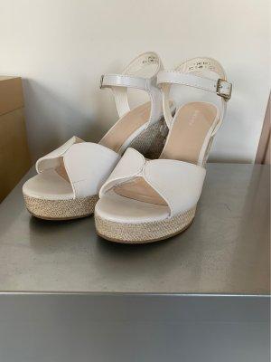 Graceland Sandales à plateforme blanc