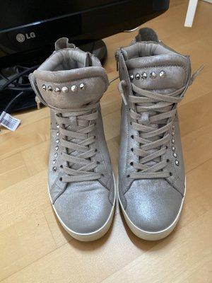 Kennel & Schmenger Sneaker con zeppa argento