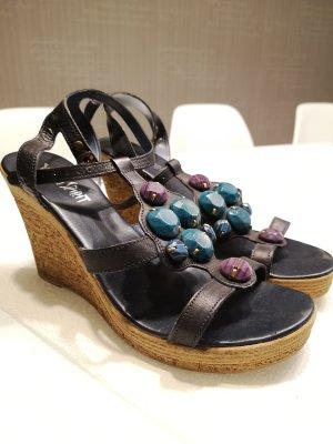 Keilabsatzschuhe Sandaletten Young Spirit Neuwertig