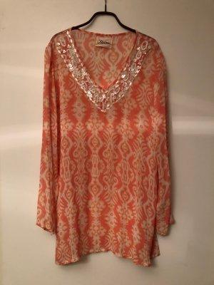 Keilani Tunika Kleid Hippy orange S 36 Batik