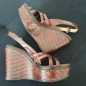 Sergio Rossi Platform Sandals brown
