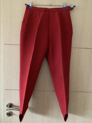 Bogner Pantalón con estribo rojo