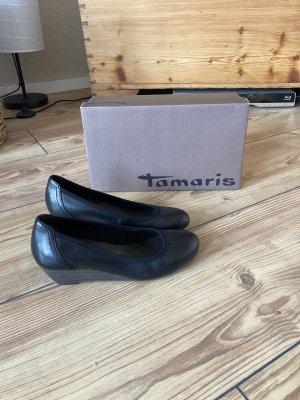 Tamaris Zapatos de cuña negro