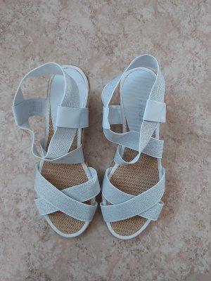 Graceland Comfortabele sandalen camel-wolwit Polyamide