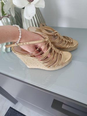 Boutique 9 Sleehaksandalen goud