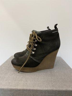 Diesel Lace Shoes ocher
