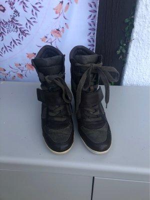 ASH Heel Sneakers green grey-khaki